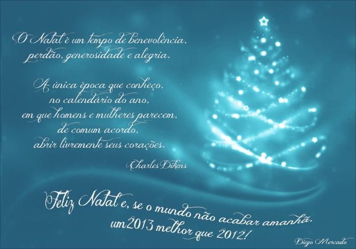 Cartão de Natal - 2012-13